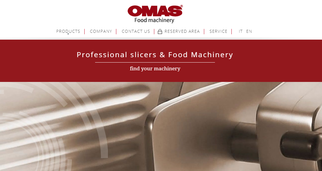 Omas Food Machinery